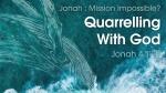 Quarrelling With God