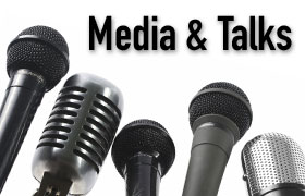 Media and talks